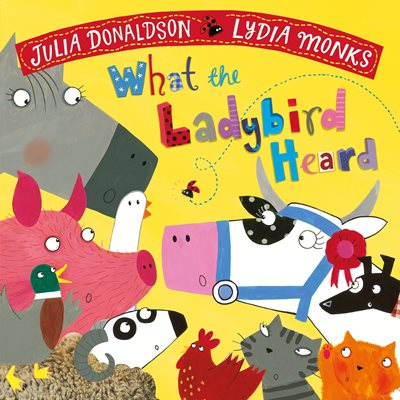 Book cover for What the Ladybird Heard
